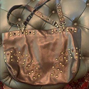 Leather HoBo bag.